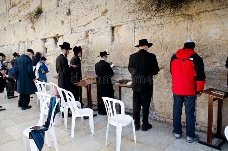 Jerusalem Western wall royalty free stock photo