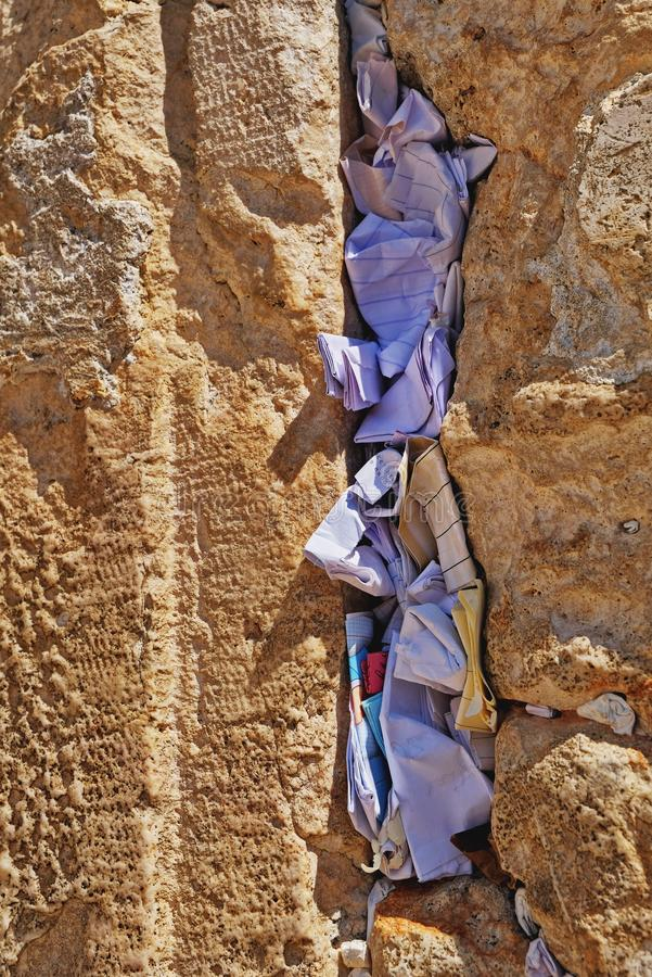 Jerusalem, Western Wall. For  many centuries it has been a symbol of the faith and hope of many generations of Jews, a place of their stock photos