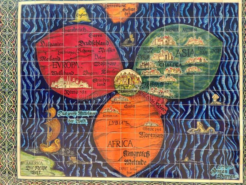 Jeruzalem, de heilige stad royalty-vrije stock afbeelding