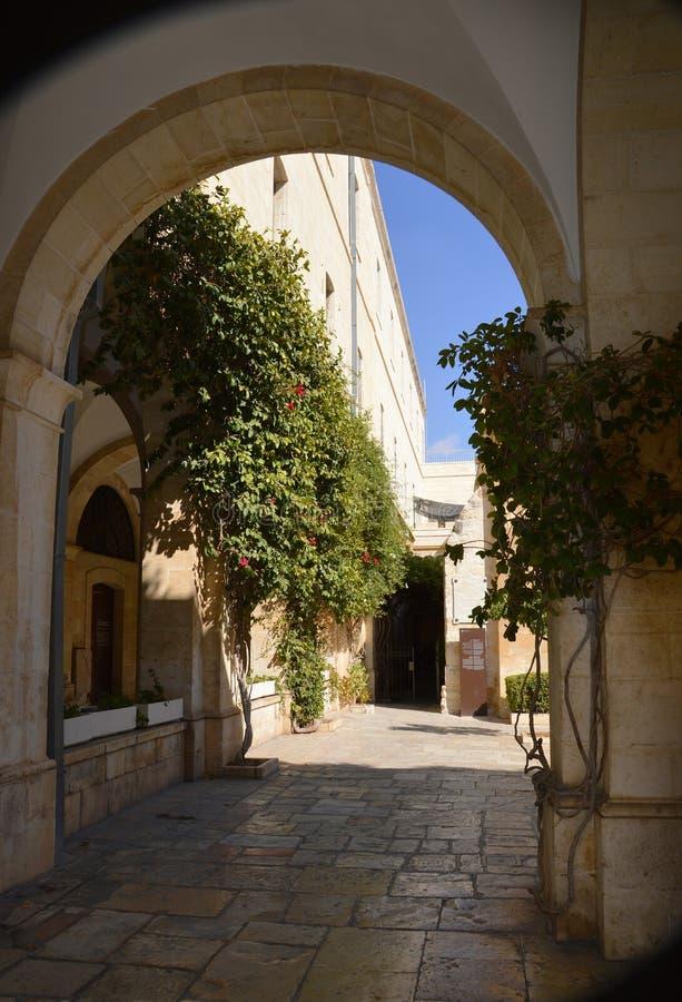 Jeruzalem, de Yard Gabath van Joodse Midden-Oostenpontius pilate royalty-vrije stock afbeelding