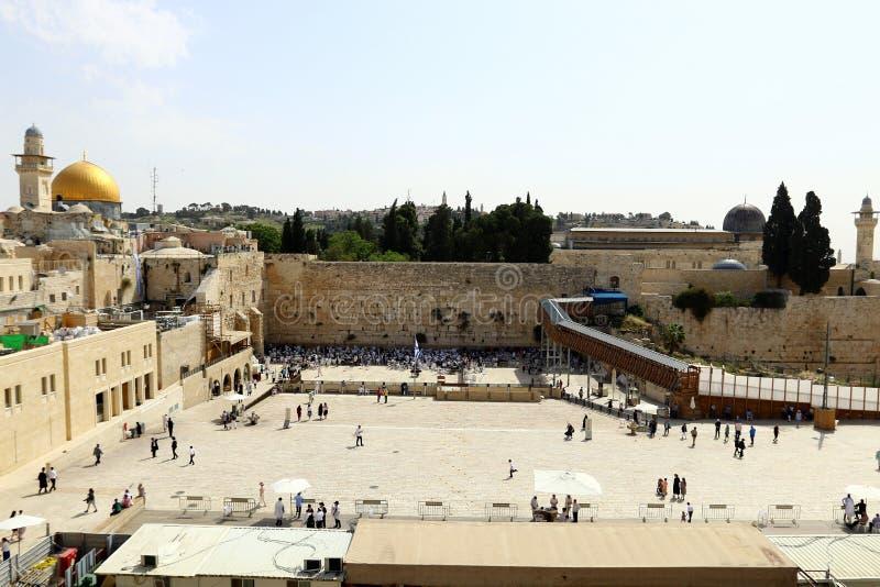 Jeruzalem - het kapitaal van de staat Israël royalty-vrije stock afbeeldingen