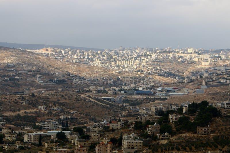 Jeruzalem - het kapitaal van de staat Israël stock afbeeldingen