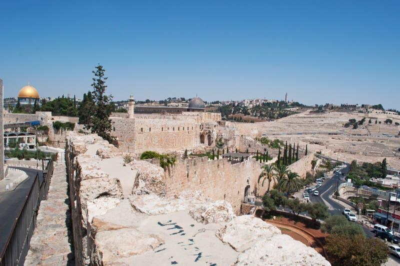 Jeruzalem, Oude Stad, Israël, Midden-Oosten stock afbeeldingen