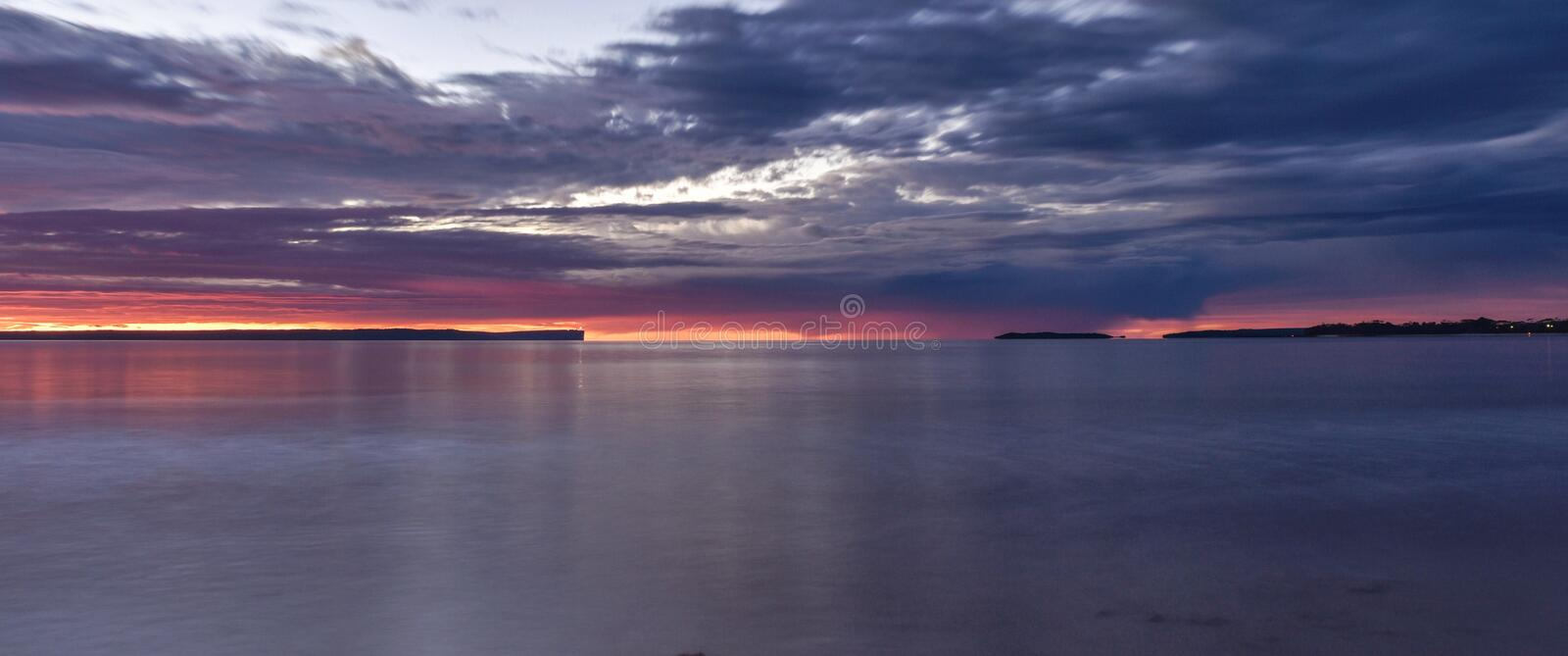 Jervis Bay Dawn photos stock