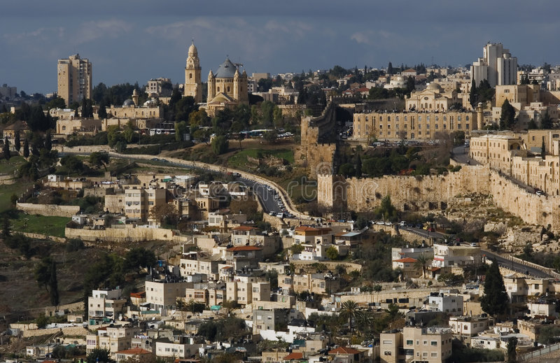 Jerysalem fotografie stock