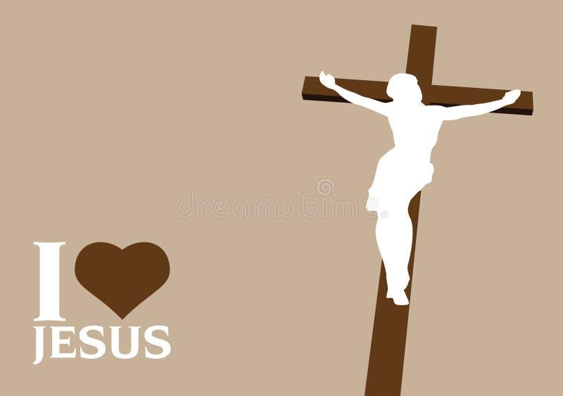 Jesús stock de ilustración