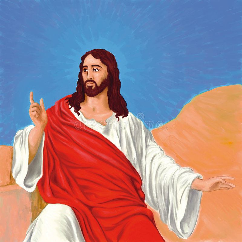 Jesús libre illustration