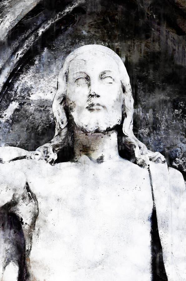 Jesús místico foto de archivo libre de regalías