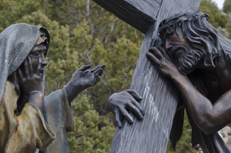 Jesús murió por nosotros foto de archivo libre de regalías