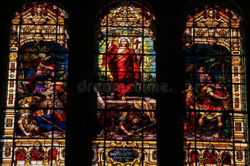 Jesús que sube del sepulcro imágenes de archivo libres de regalías