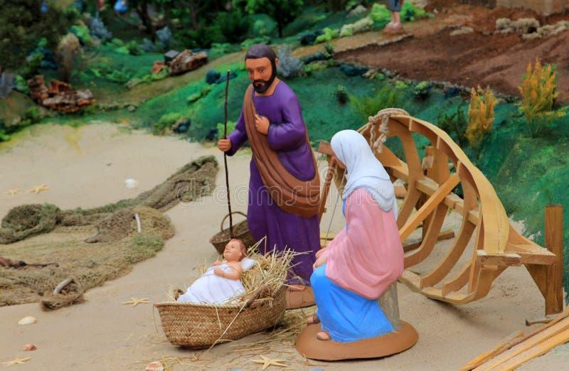 Jesús y hombre sabio tres imágenes de archivo libres de regalías