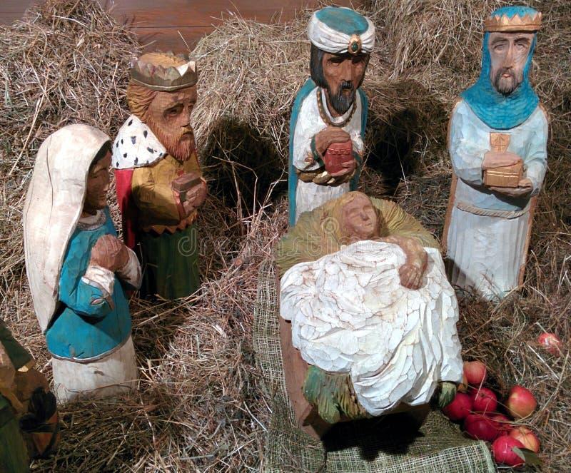 Jesús y hombre sabio tres foto de archivo