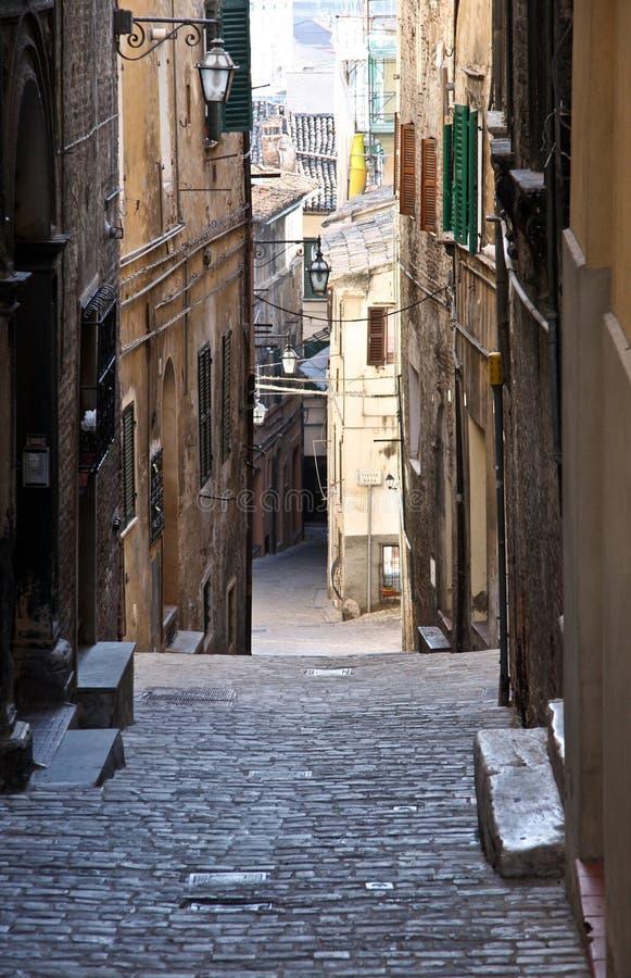 JESI, ITALIA fotografia stock