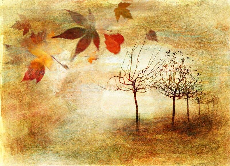 jesień ilustracji