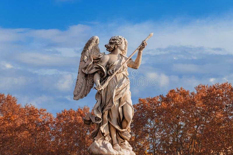 Jesień anioł w Rzym zdjęcia stock