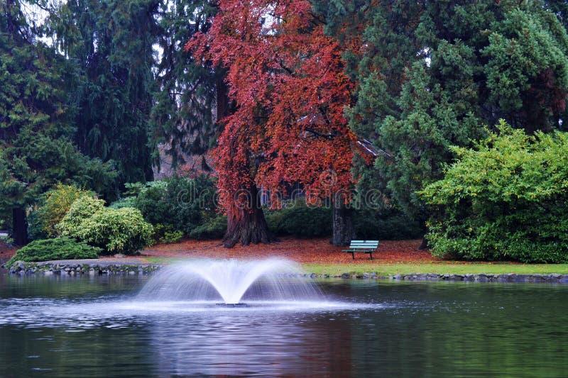 jesień bakanu wzgórza park obrazy stock