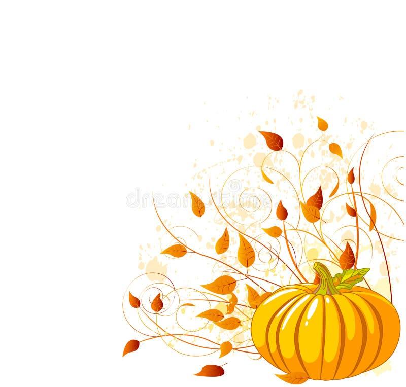 jesień bania royalty ilustracja