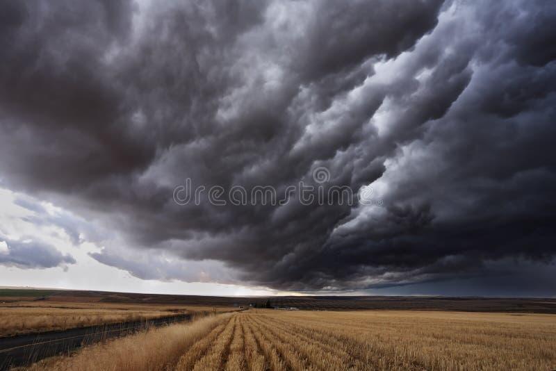 jesień burza obrazy stock