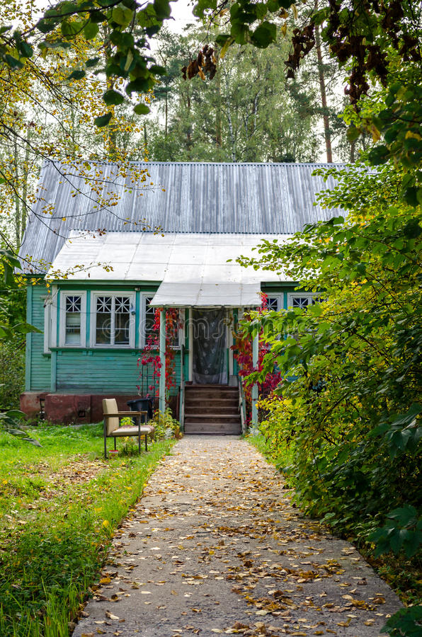 Jesień dom obraz stock