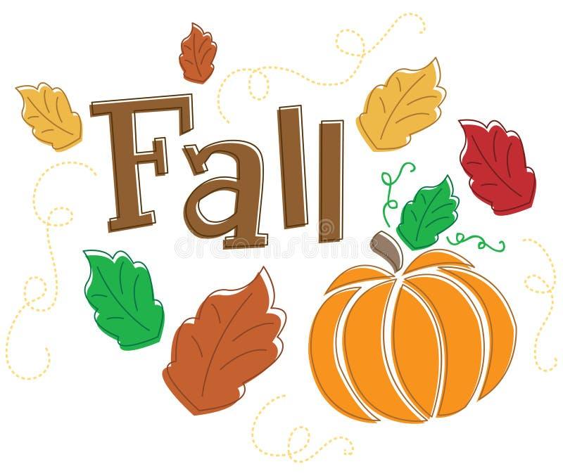 jesień grafiki sezonowe jesieni ilustracja wektor