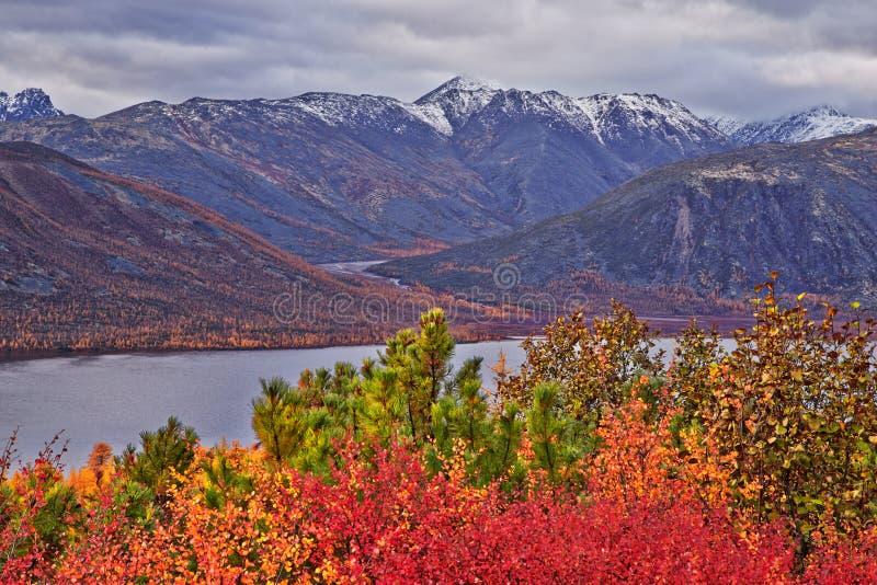 Jesień Jack London jezioro zdjęcie stock