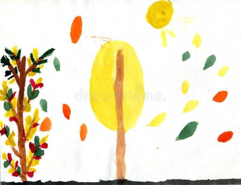 jesień jaskrawy ilustracja wektor