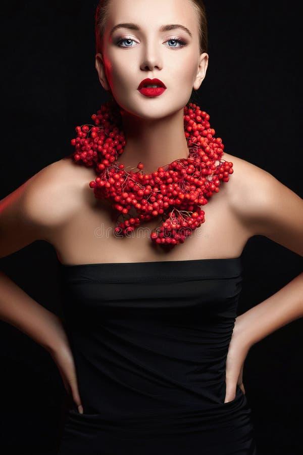 Jesień Kobiety Mody Portret obrazy stock