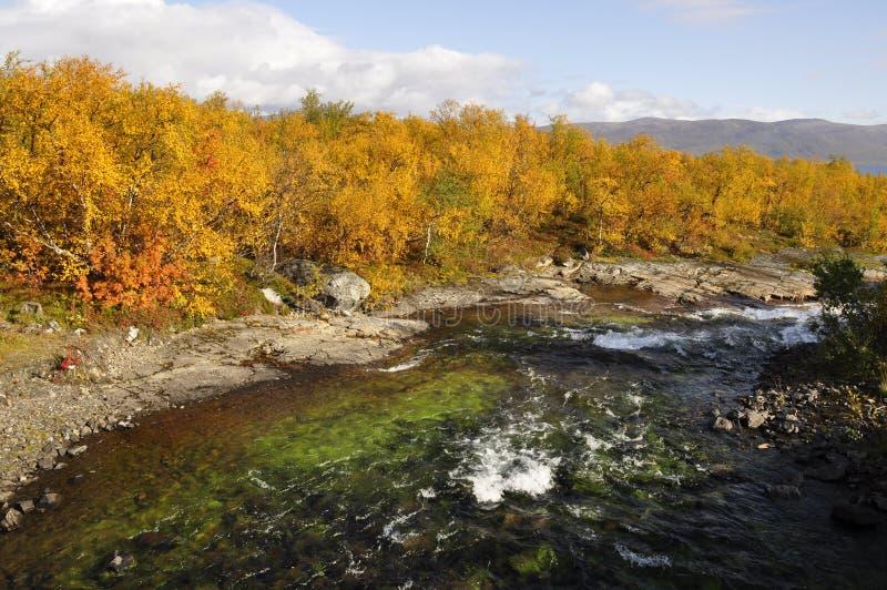 jesień krajobrazowy Sweden zdjęcia stock