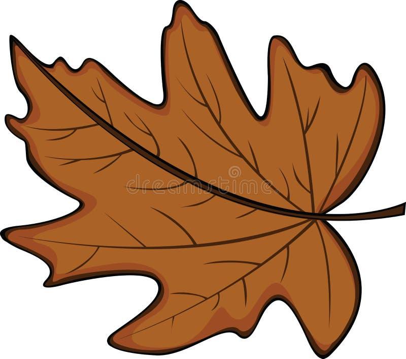 jesień liść royalty ilustracja