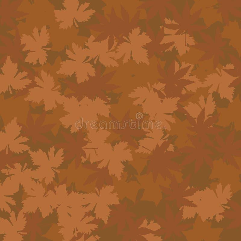 Jesień Liść Wzór royalty ilustracja