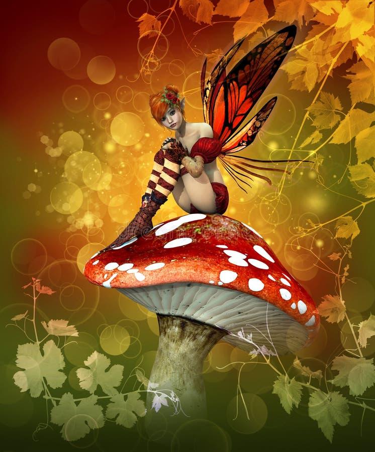 jesień magia royalty ilustracja