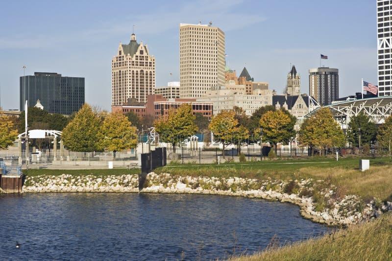 jesień Milwaukee zdjęcia stock