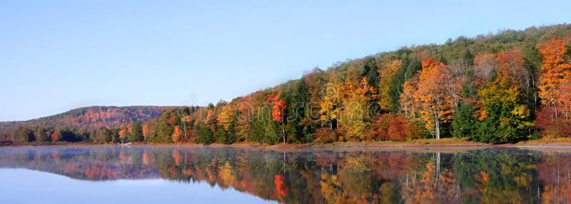 jesień panorama fotografia stock