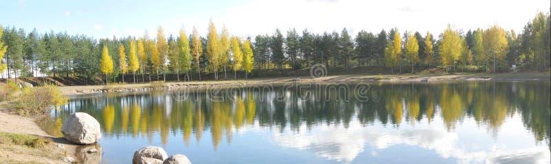 jesień panoramy sceneria obrazy stock