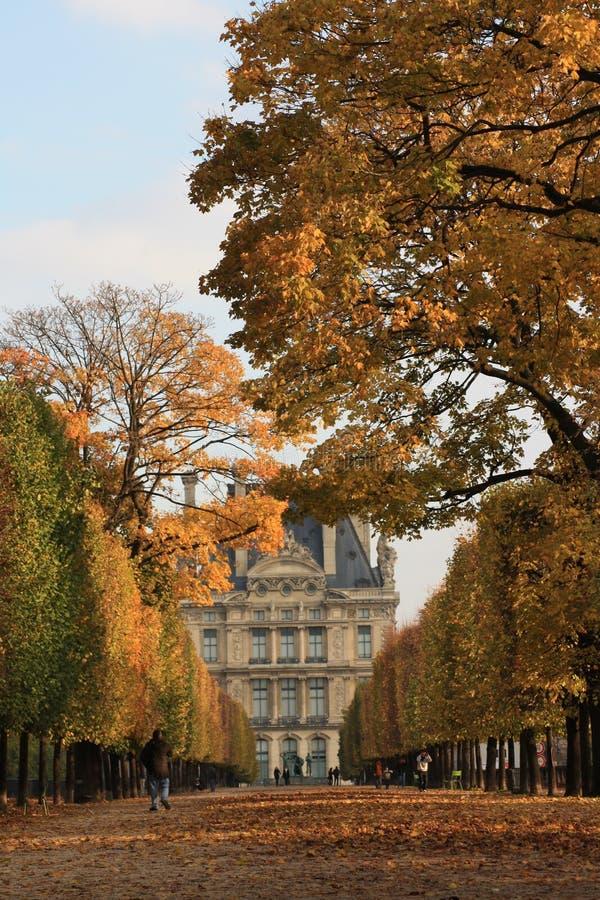 jesień Paris obraz royalty free