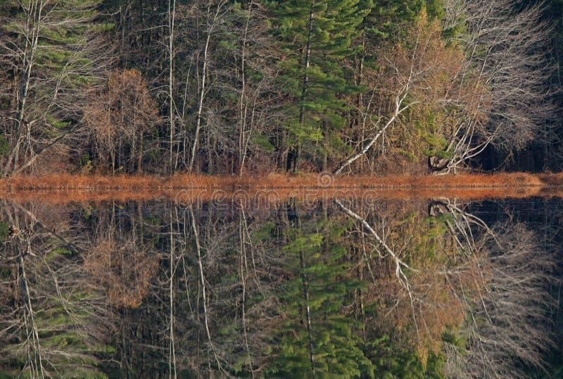 jesień sala jezioro póżno obrazy stock