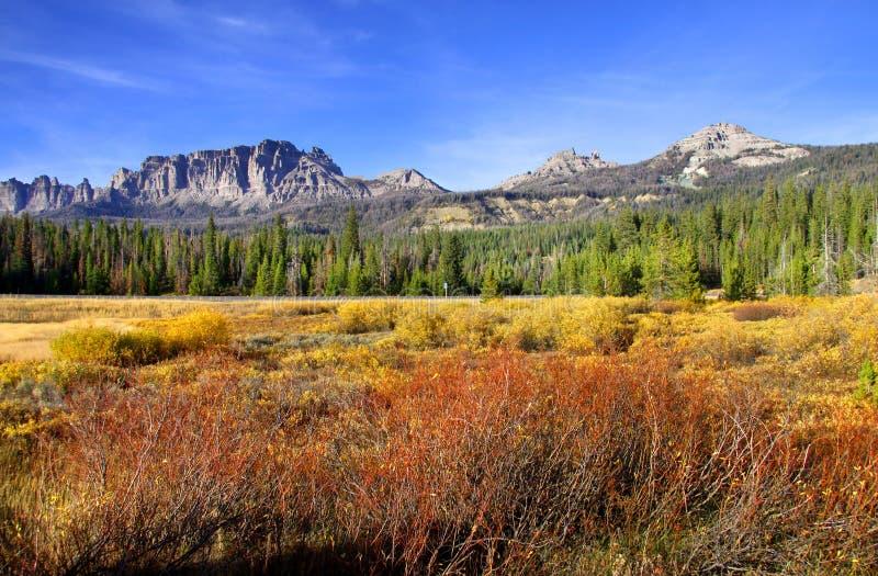 jesień sceniczny krajobrazowy obraz royalty free