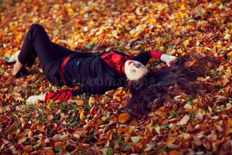 jesień sen zdjęcia stock