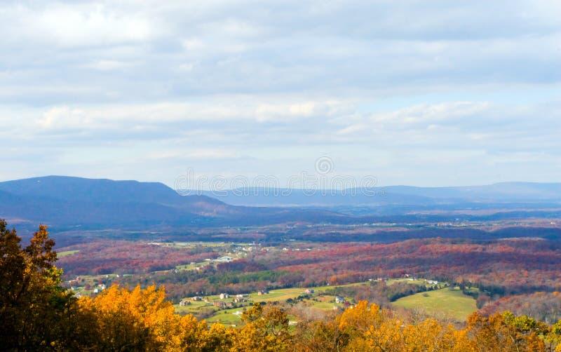 jesień shenandoah dolina obraz stock