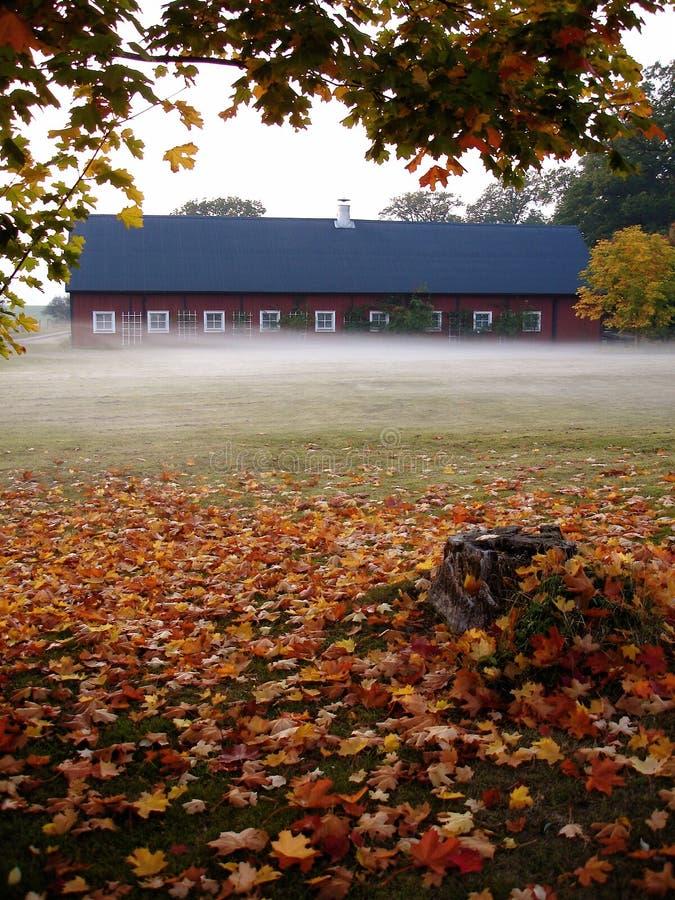 jesień stajenka zdjęcia stock