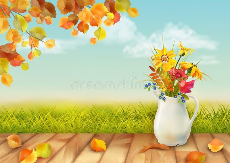jesień tła eps zawierać wektor ilustracja wektor