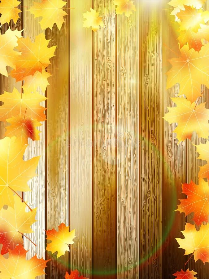 Download Jesień Tła Kopii Liść Nad Astronautyczny Drewnianym EPS10 Ilustracja Wektor - Ilustracja złożonej z brud, spadek: 42525683