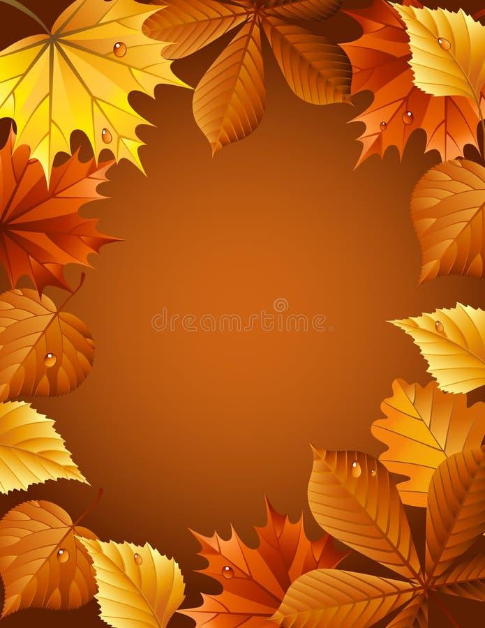 jesień tło royalty ilustracja