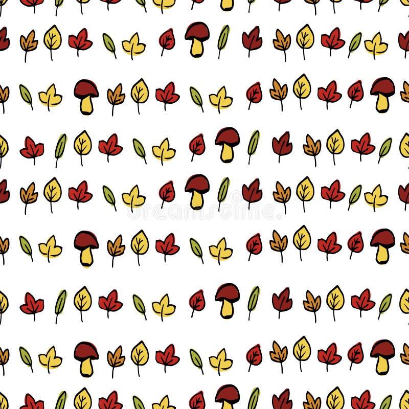 Download Jesień Tło Opuszczać Bezszwowy Ilustracja Wektor - Ilustracja złożonej z nikt, liść: 57673470