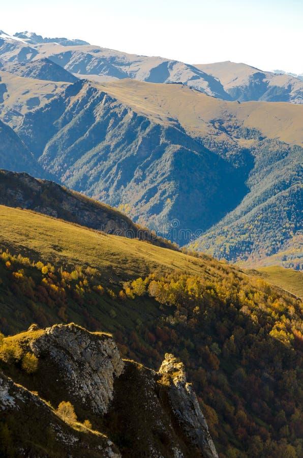 Jesień w górach obrazy stock