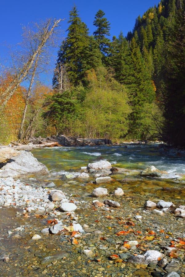 Jesień w górach fotografia stock
