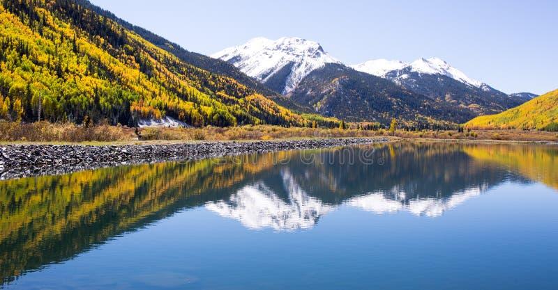 Jesień w Kolorado obraz royalty free