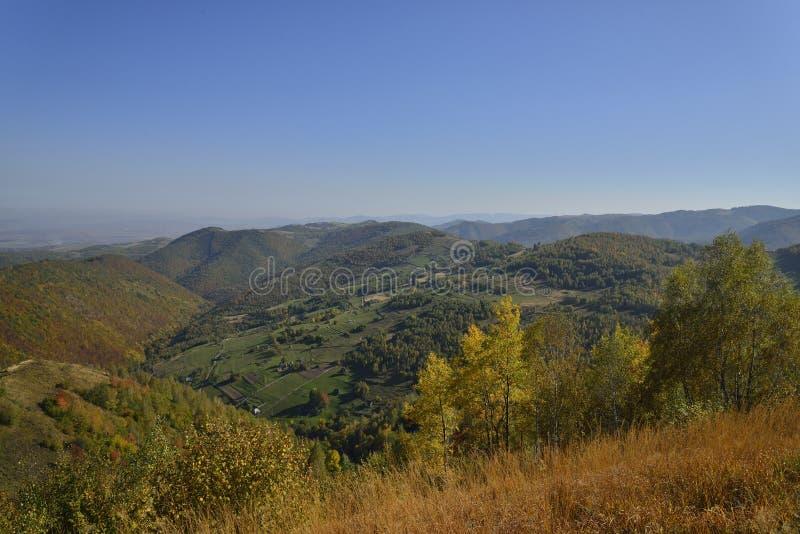 jesień wczesny hdr wizerunku krajobraz zdjęcie stock