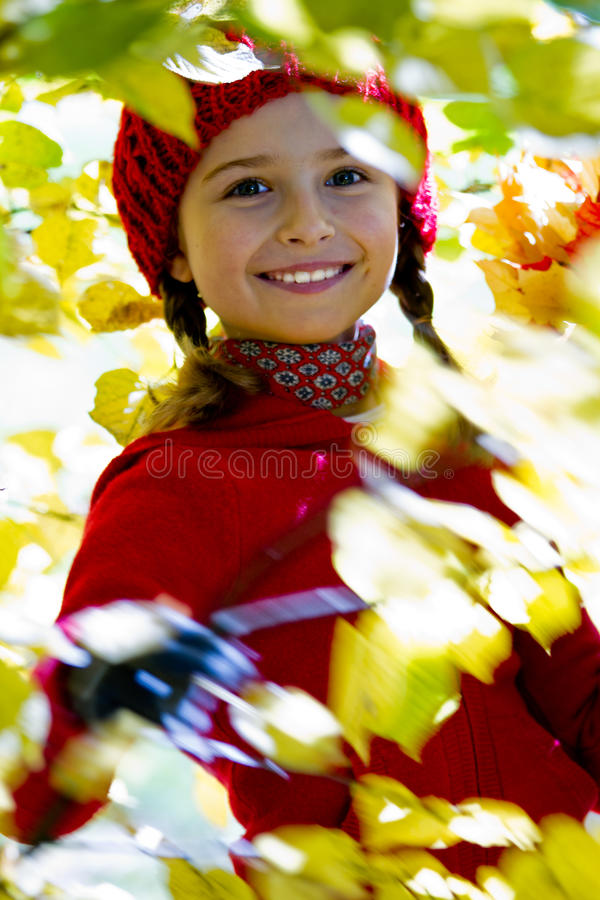 Jesień zabawa zdjęcia stock