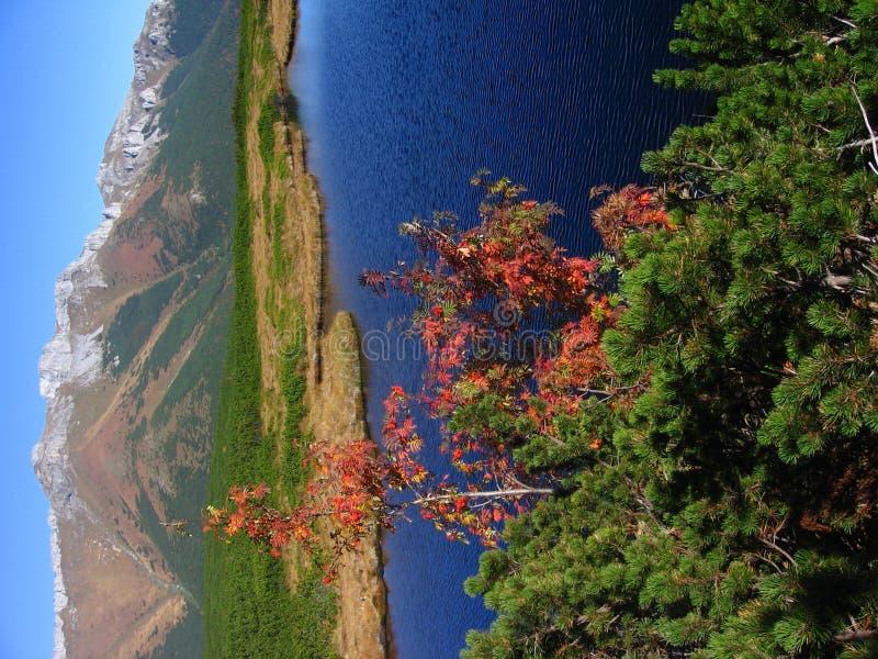 jesienią dolomitowa góry fotografia stock